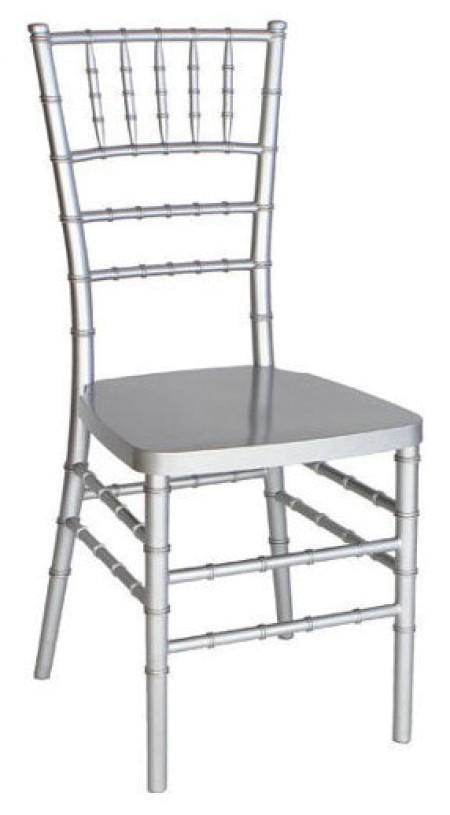 Ezüst Chiavari / Amerikai szék