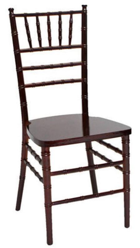 Mahagóni Chiavari / Amerikai szék