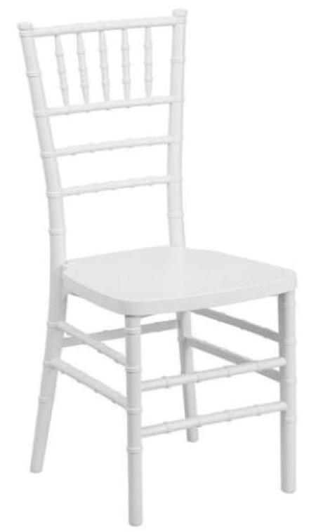 Fehér Chiavari / Amerikai szék